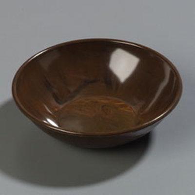 Carlisle 706011 13-oz Salad Bowl - Walnut Woodgrain