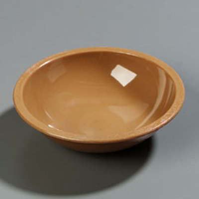 "Carlisle 708020 8"" Salad Bowl - Birchwood Woodgrain"