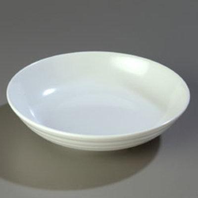 "Carlisle 791002 10-1/2"" Designer Pasta Bowl - Melamine, White"