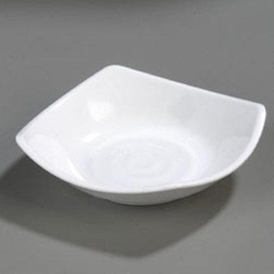Carlisle 794202 5-oz Square Side Dish - Melamine, White