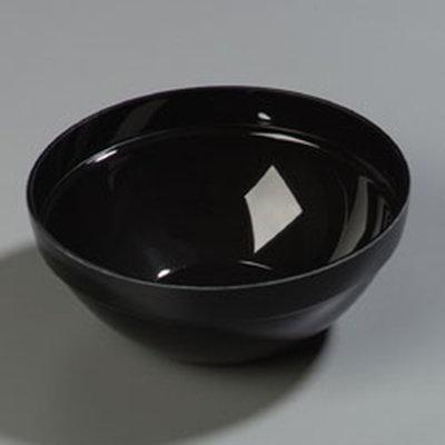 Carlisle 803803 2-qt Bowl - Acrylic, Black