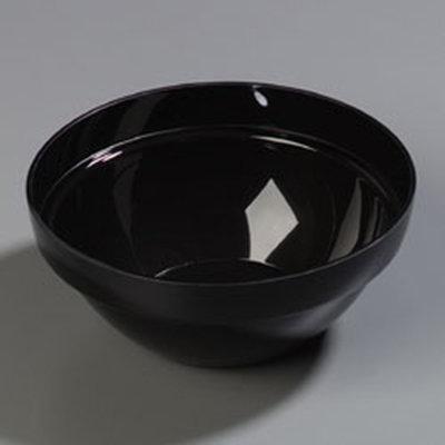 Carlisle 809903 2.7-qt Bowl - Acrylic, Black