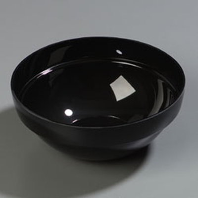 Carlisle 810003 3-qt Bowl - Acrylic, Black