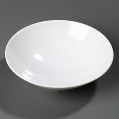 Carlisle ARR24002 46-oz Vegetable Bowl - Melamine, White