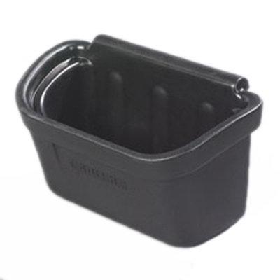 "Carlisle CC11SH03 Silverware Bin - 11x18x11"" Polycarbonate, Black"
