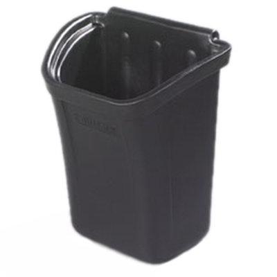 "Carlisle CC11TH03 Trash Bin - 12-1/4x18x22"" Polyethylene, Black"