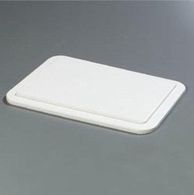Carlisle CM1042LP02 Full-Size Coldpan Lid - Plastic, White