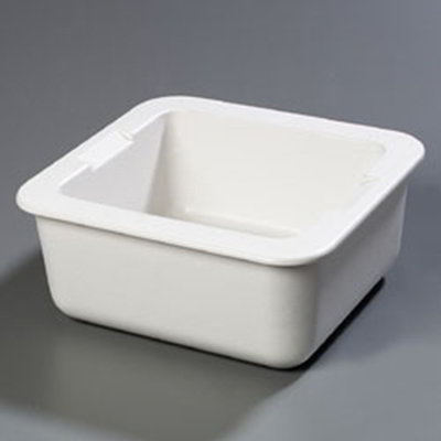 """Carlisle CM104602 2/3 Size Coldpan - 6"""" D, Refrigerant Gel Insulated, White"""