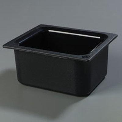 "Carlisle CM110103 Coldmaster Half Size Food Pan - 6""D, Black"