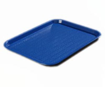 "Carlisle CT1418-81-14 Rectangular Cafe Tray - (6/Pk) 17-7/8x14"" Blue"