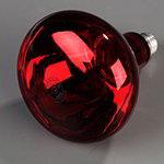 Carlisle HLRP705 Heat Lamp Bulb - 250-watt, Red