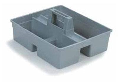 Carlisle JC1945CB23 Janitorial Tool Caddy - Polypropylene, Gray