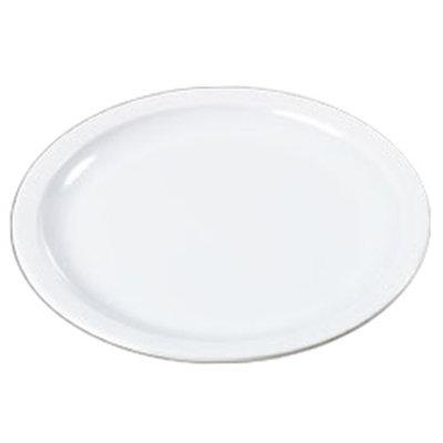 """Carlisle KL11602 10"""" Kingline Dinner Plate - Melamine, White"""