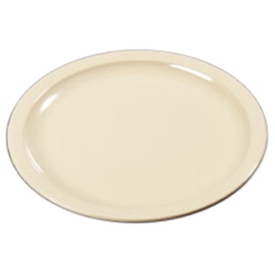 "Carlisle KL20025 9"" Kingline Dinner Plate - Melamine, Tan"