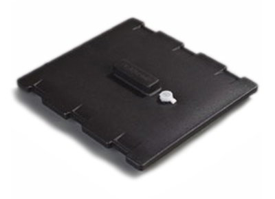 Carlisle LD1001LG03 Cateraide Lid Assembly - (LD1000N) Polyethylene, Black