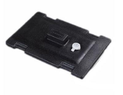 Carlisle LD235LG03 Cateraide Lid Assembly - (LD250N/350N/500N) Polyethylene, Black