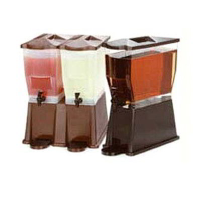 Carlisle 1086069 Beverage Dispenser Lid - Brown