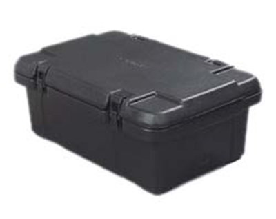 Carlisle PC160N03 18-qt Insulated Food Carrier, Holds 6-in Deep Pan, Black