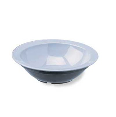 Carlisle PCD30503 5-oz Rimmed Fruit Bowl - Narrow Rim, Polycarbonate, Black