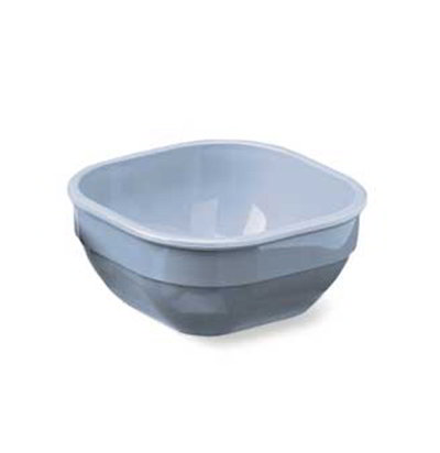 Carlisle PCD31002 10-oz Square Bowl - Polycarbonate, White