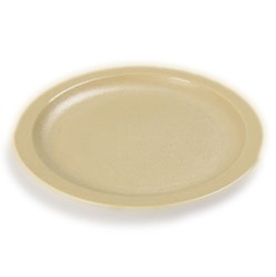 "Carlisle PCD20725 7-1/4"" Plate - Polycarbonate, Tan"