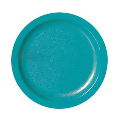 "Carlisle PCD20915 9"" Plate - Polycarbonate, Teal"