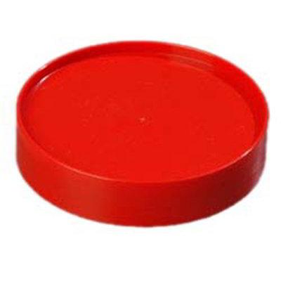 Carlisle PS30405 Store 'N Pour Cap - Polyethylene, Red