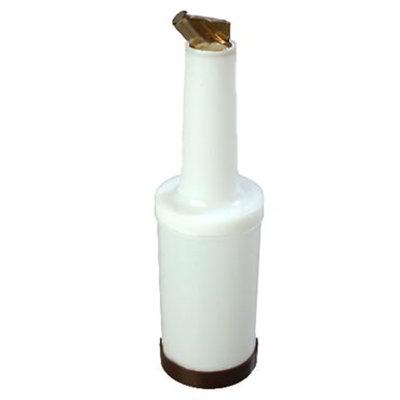 Carlisle PS601N01 32-oz Store 'N Pour Quart Complete - Polyethylene, Brown
