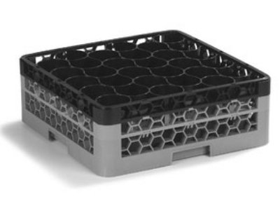 Carlisle REW30SC03 30-Compartment Full Size Dishwasher Rack Divided Extender, Black