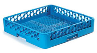 Carlisle RF14 Full-Size Dishwasher Combination/Flatware Rack - Textured Blue