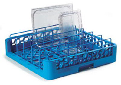 Carlisle RFP14 Full Size Tray/Food Pan Dishwasher Rack - Blue