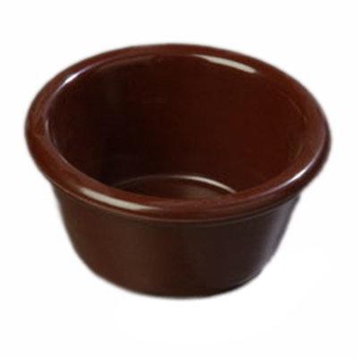 Carlisle S28069 3-oz Ramekin - Melamine, Chocolate
