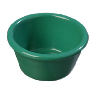 Carlisle S28509 4-oz Ramekin - Melamine, Meadow Green