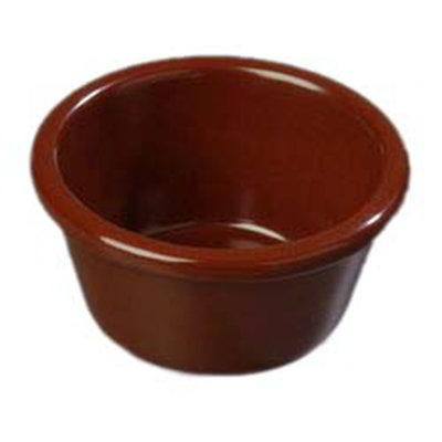 Carlisle S28669 6-oz Ramekin - Melamine, Chocolate
