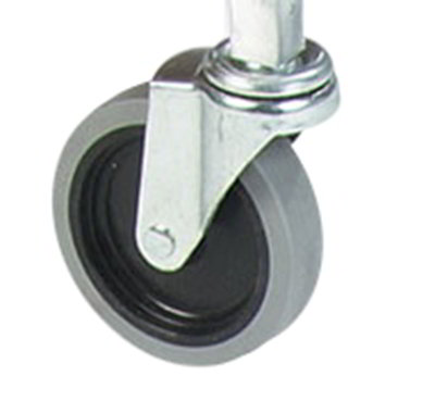 "Carlisle SBCC24000 4"" Heavy Duty Swivel Caster for Fold 'N Go Cart"