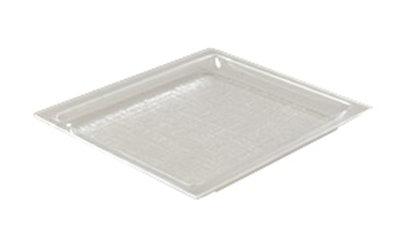 "Carlisle SPD12307 Rectangular Pastry Tray - 14-1/2x13-1/4x1"" Acrylic, Clear"