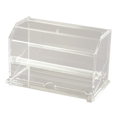 "Carlisle SSD10007 Straw Dispenser - 11x5-5/9x11-11/16"" Acrylic, Clear"