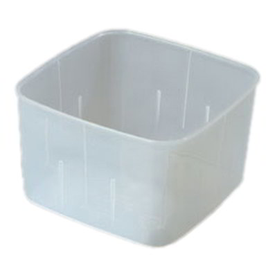 Carlisle ST153230 2-qt Square Food Storage Container - Translucent