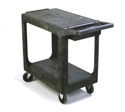 "Carlisle UC194023 Utility Cart - 500-lb Capacity, 5"" Castors, Polypropylene, Gray"