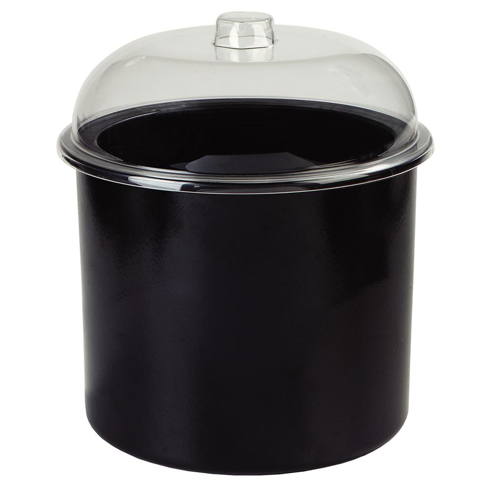 Carlisle CM101203 3-gal Ice Cream Server - Clear/Black