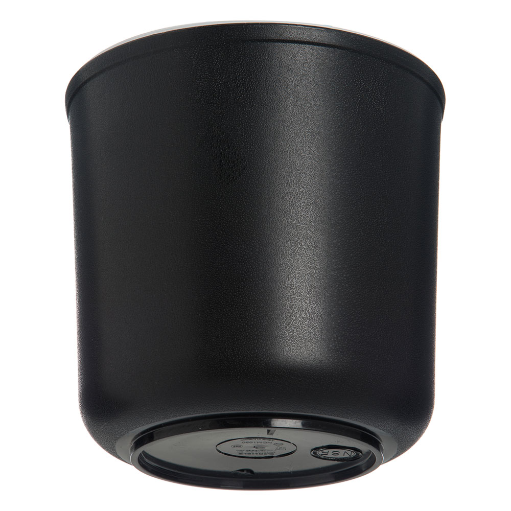 Carlisle CM103003 2-qt ColdCrock - Insulated, Black