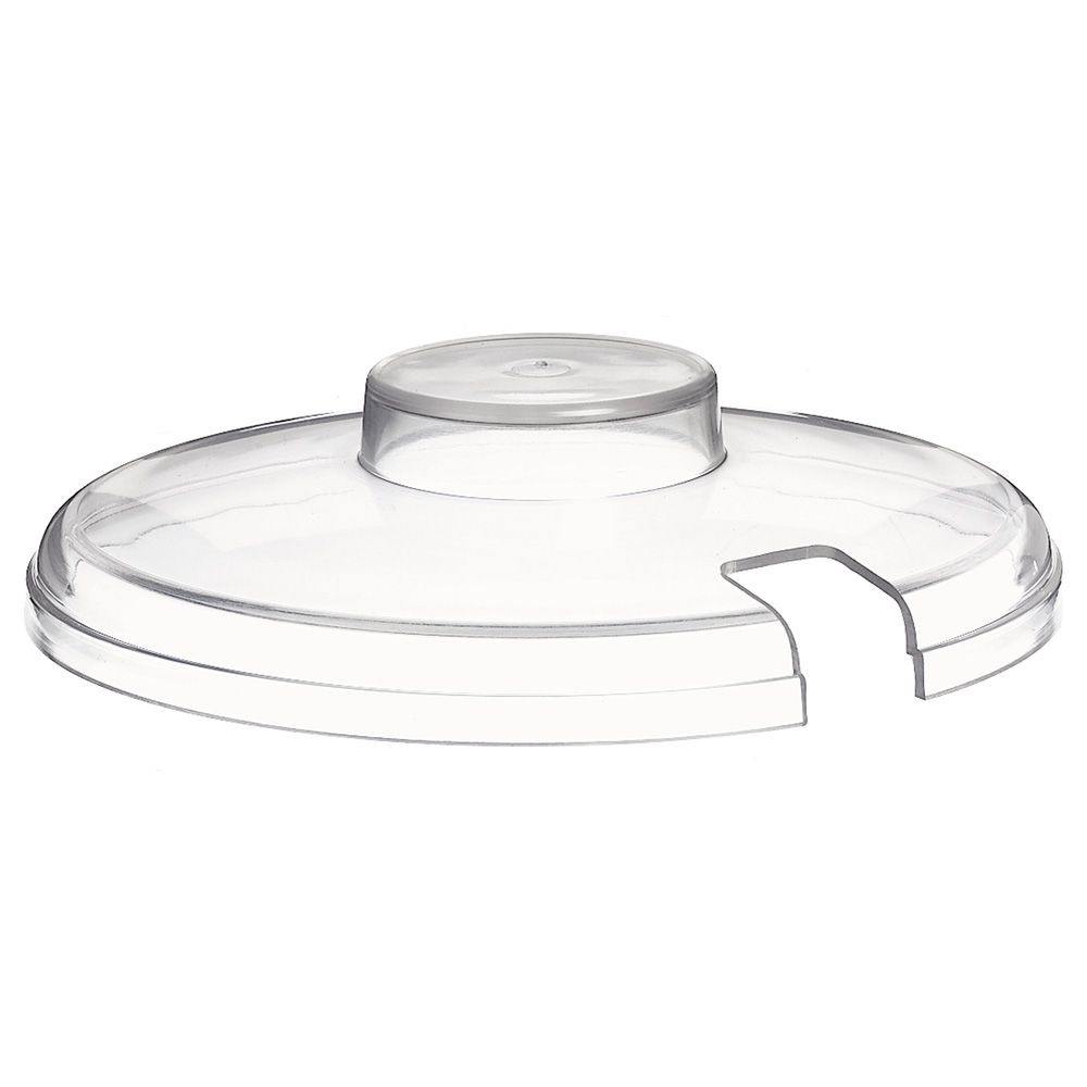 Carlisle CM103307 Slotted Lid, Clear