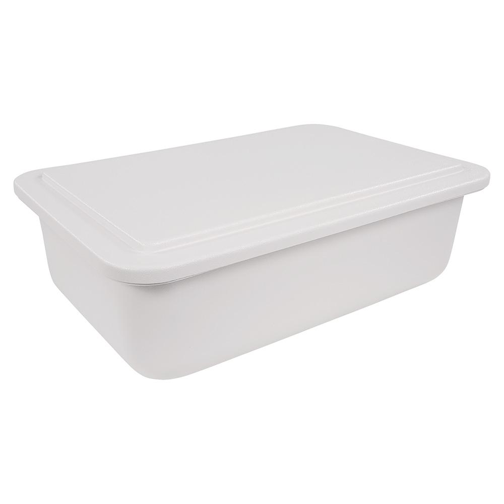 Carlisle CM1042LP02 Full-Size Cold Food Pan Lid - Plastic, White