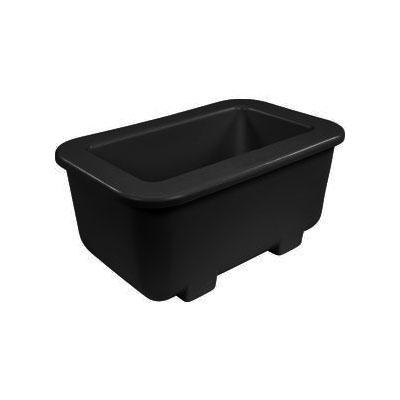 Carlisle CM104503 Coldmaster® 1/3-Size Coldpan, Black