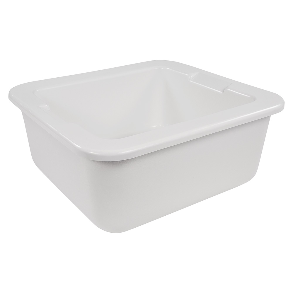 "Carlisle CM104602 2/3 Size Coldpan - 6"" D, Refrigerant Gel Insulated, White"