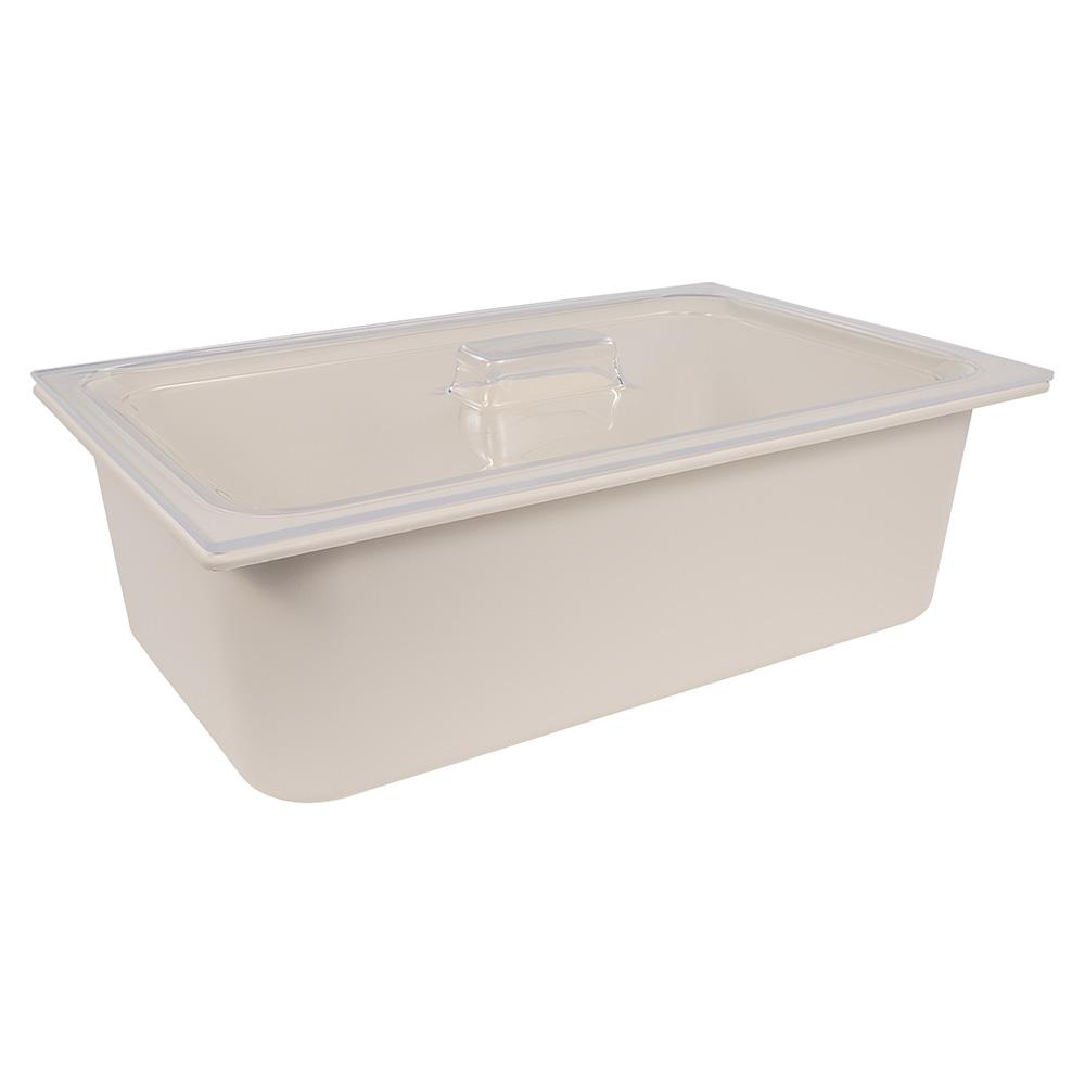 Carlisle CM112507 Coldmaster Full Size Food Pan Lid - Clear
