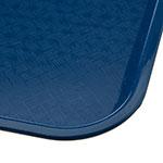 "Carlisle CT101414 Rectangular Cafeteria Tray - 13.875"" x 10.75"", Polypropylene, Blue"