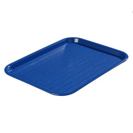 Carlisle CT1418114 Fast Food Tray, Rectangular, 14 x 18 in,  Poly