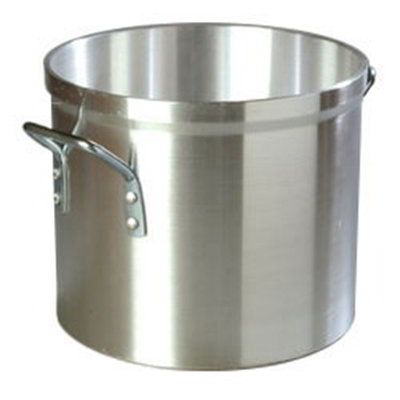 Carlisle 60295 20-qt Heavy Weight Stock Pot, 12-in Diam., Aluminum