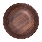 "Carlisle EAG0169 7.5"" Round Serving Bowl w/ 34-oz Capacity, Melamine, Acacia Grain"